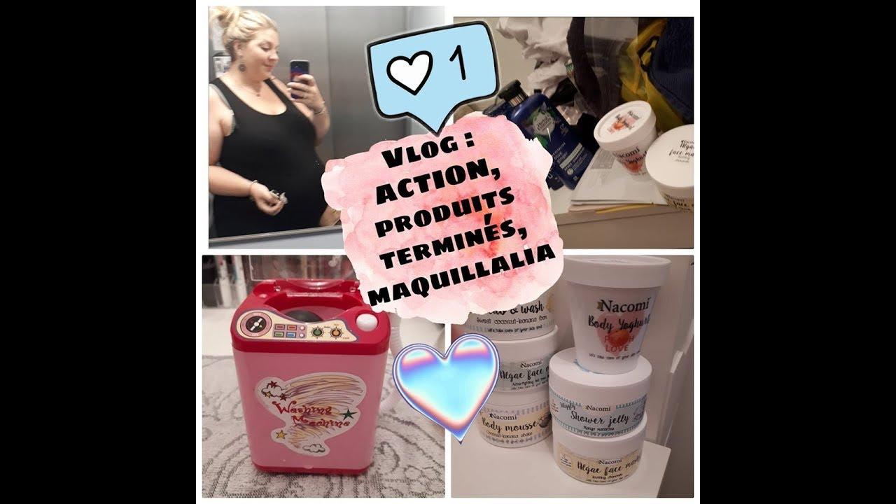 Vlog 42 Haul Action Maquillalia Produits Terminés Beauté Privée Dons