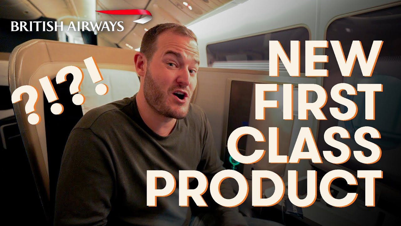 NEW British Airways 777-200ER First Class Product Review + How to Beat Jet Lag Flying to Europe