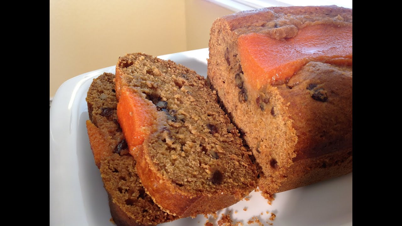 How To Make Persimmon Bread Baking Recipes - YouTube