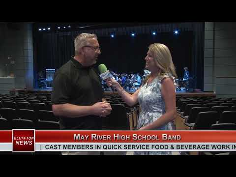 BLUFFTON NEWS | May River High School Band | WHHITV