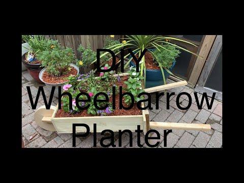 DIY Wheelbarrow Planter