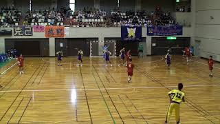 2012全九州ハンドボール 熊本国府vs興南 前半