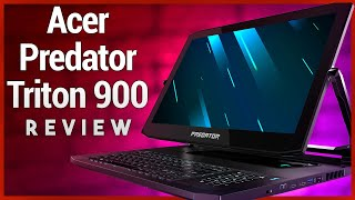 Acer Predator Triton 900 Review - High-end Gaming Laptop With Convertible 4k Screen
