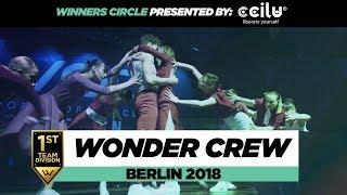 Wonder Crew   1st Place Team Division   Winners Circle   World of Dance Berlin 2018