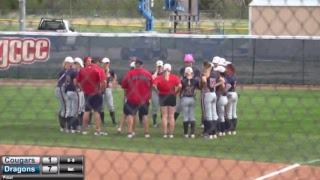 Blue Dragon Softball vs. Barton (Game 1)