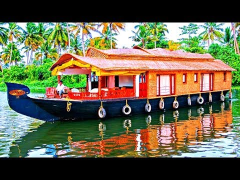 Beautiful Alleppey Houseboats - Kerala, India