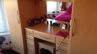 Richard & Richard's Ascot Beech Fitted Bedroom In Cheadle, Stockport, Cheshire