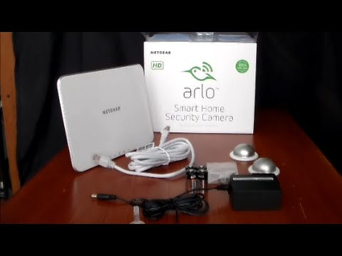 review of the arlo smart home security camera system by netgear youtube. Black Bedroom Furniture Sets. Home Design Ideas