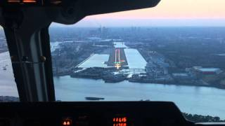 london city bae 146 200 cockpit landing