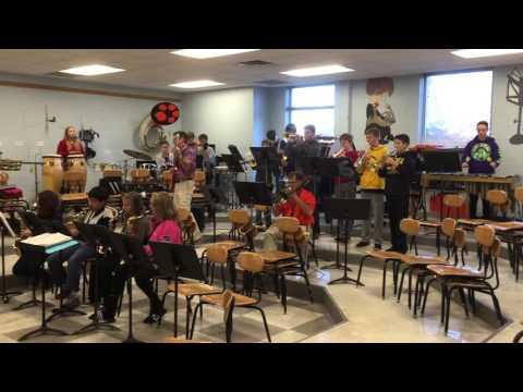 Sudlow Intermediate Jazz Band Rehearsal
