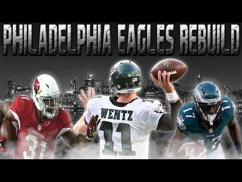 """Philadelphia Eagles Rebuild - """"Best Free Agent Pick Up"""" - Madden 18 Connected Franchise Rebuild"""