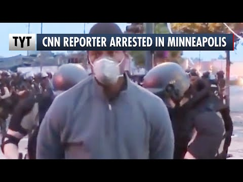 CNN Reporter Arrested While On-Air In Minneapolis
