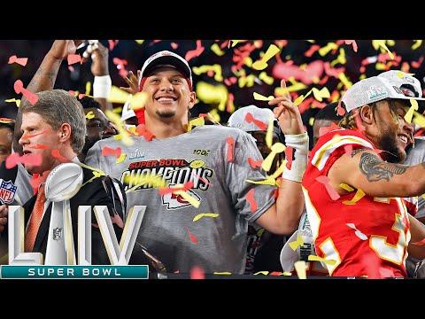 Super Bowl LIV Trophy Presentation