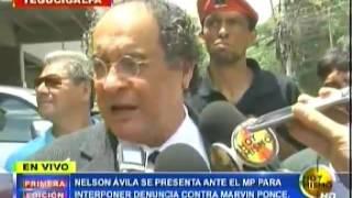 Nelson Ávila interpone denuncia contra Marvin Ponce en el MP