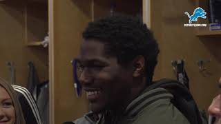 Kerryon Johnson on Kansas City defense