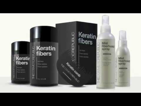Cómo aplicar las fibras capilares Keratin Fibers