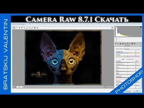Camera raw 8.7.1 Скачать