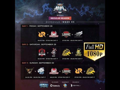 ????[LIVE MPL- FULL HD 1080P] ONIC ESPORTS VS TEAM CAPCORN | MPL-ID S2 Regular Season Minggu 3 Hari 2