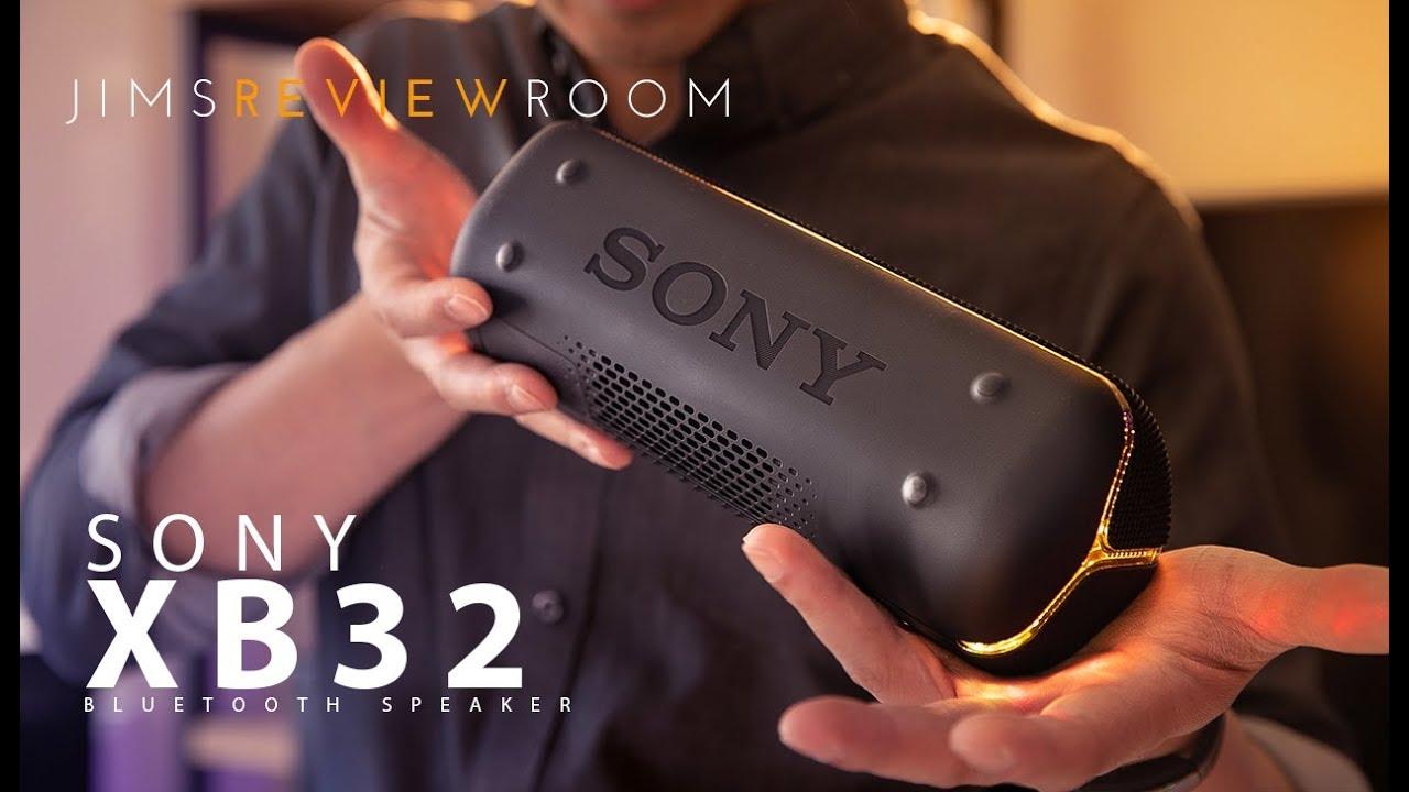 Sony Xb32 Bluetooth Speaker Review Youtube