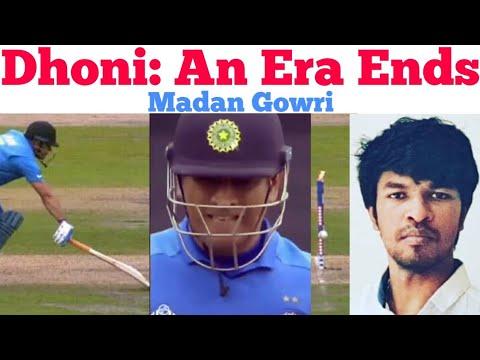 Dhoni: End of an Era | Tamil | Madan Gowri | MG | World Cup 2019 | India