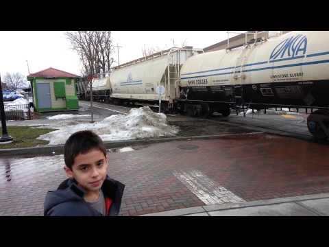 Burlington VT Freight Train