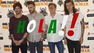 One Direction Practican Su Español Para Colaborar con Enrique Iglesias!?