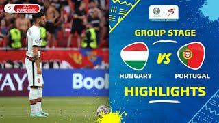 UEFA Euro 2020 | Group F | Hungary v Portugal | Highlights