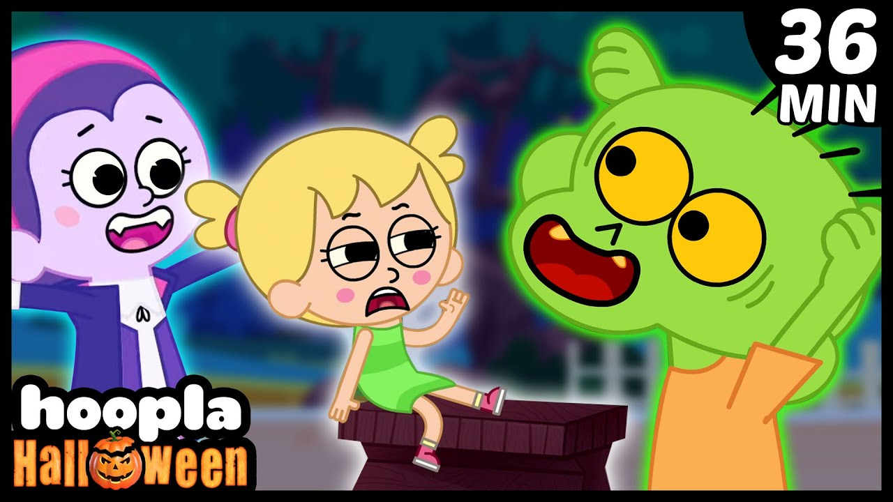 Zombie Had A Little Monster | Scary Halloween Songs For Kids | Hoopla Halloween