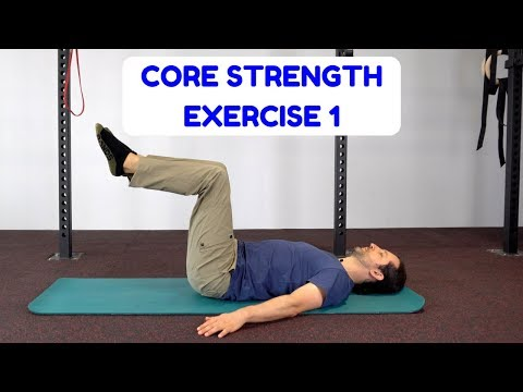 Core Strength Exercise TOE TAPS Melbourne Myotherapist