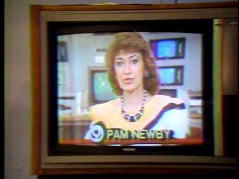 WDEF Chattanooga 1988 story about local news anchors