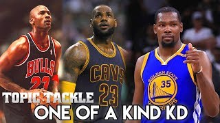 Why Kevin Durant is the MOST UNIQUE Player to EVER PLAY in the NBA