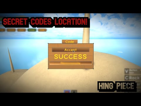 ALL SECRET CODES + NEW CODES! [KING PIECE]