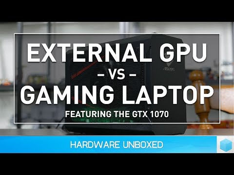 Are External GPUs as Fast as Gaming Laptops? The eGPU Factor!