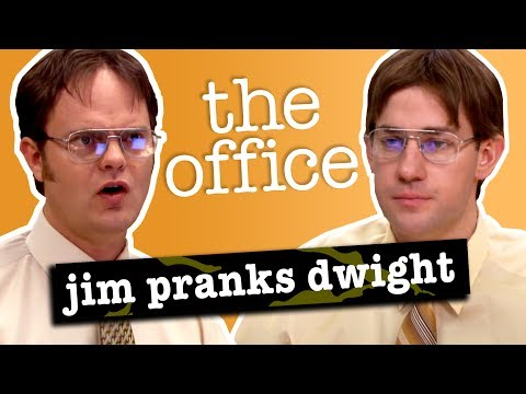 Jim's Pranks Against Dwight  The Office US