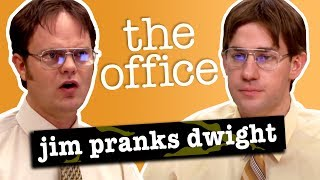 jim and dwight pranks