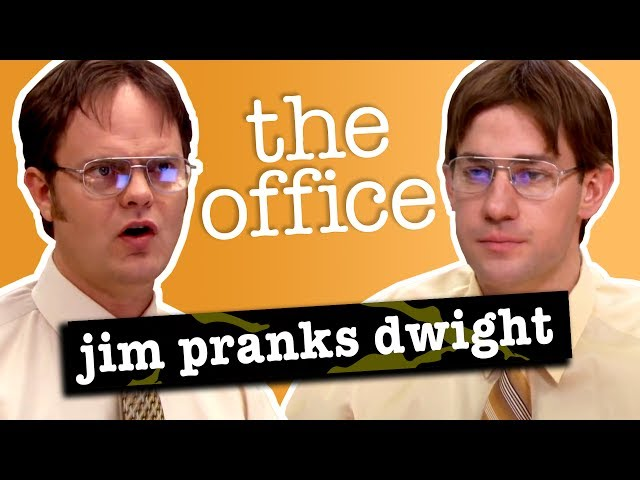 Jims Pranks Against Dwight - The Office US