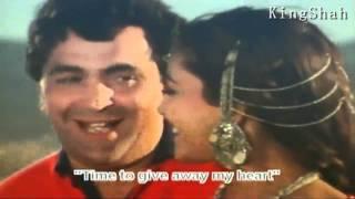 Dil Lene Ki Rut Aayi HD1080p  Madhuri Dixit & Rishi Kapoor Love Romantic SonG  (Prem Granth)