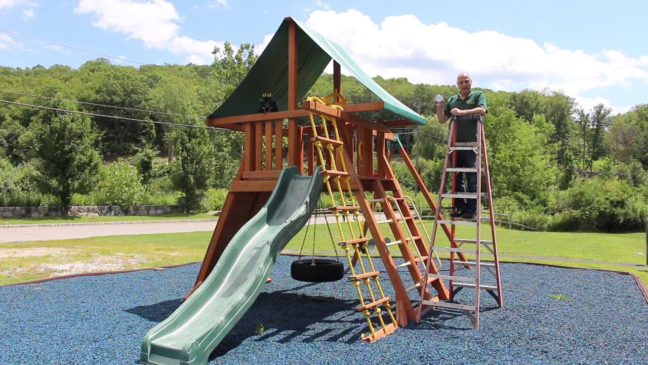 How to Measure a Swing Set Canopy & How to Measure a Swing Set Canopy - YouTube