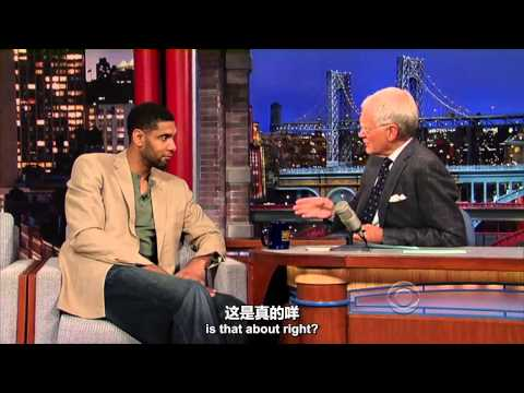 Tim Duncan With David Letterman 呆子作客莱特曼笑逐颜开完整版 中文字幕