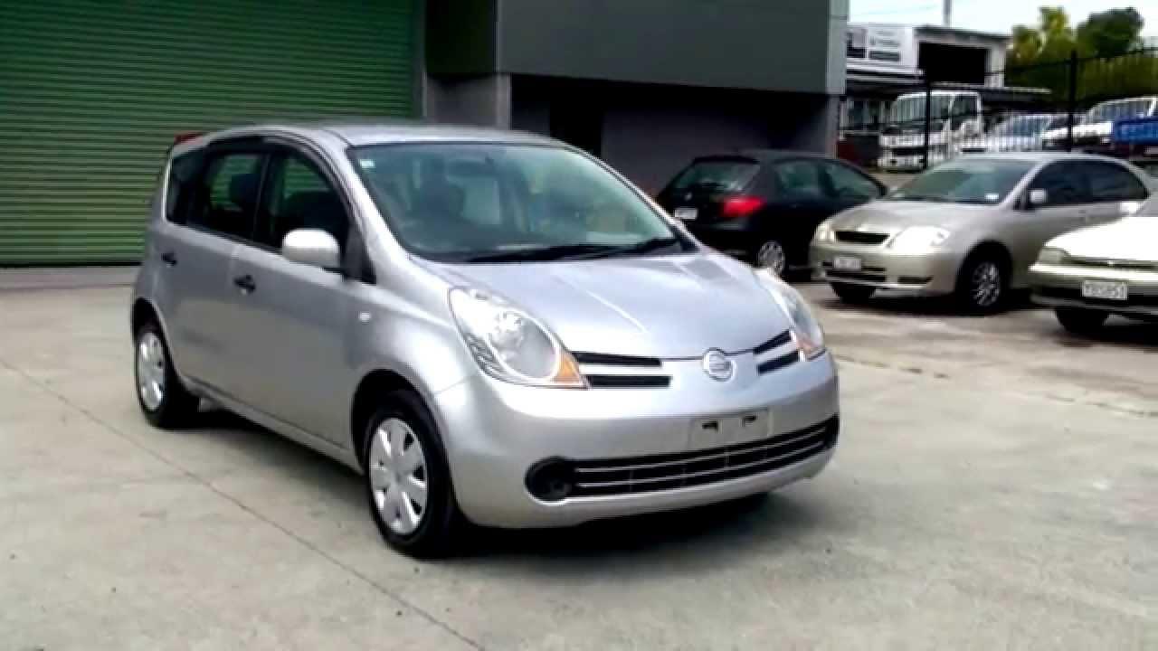 Nissan Note 2005 95km 1 5l Auto Youtube