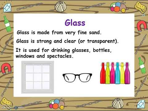 Year 1 Science - An introduction to the Science topic 'Everyday Materials'.