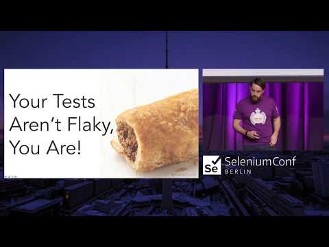 Your Tests Aren't Flaky, You Are!  Richard Bradshaw