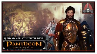 "Pantheon Developer Stream - ""Low Level Dungeon Group"" - ALL PRE-ALPHA FOOTAGE With CohhCarnage"