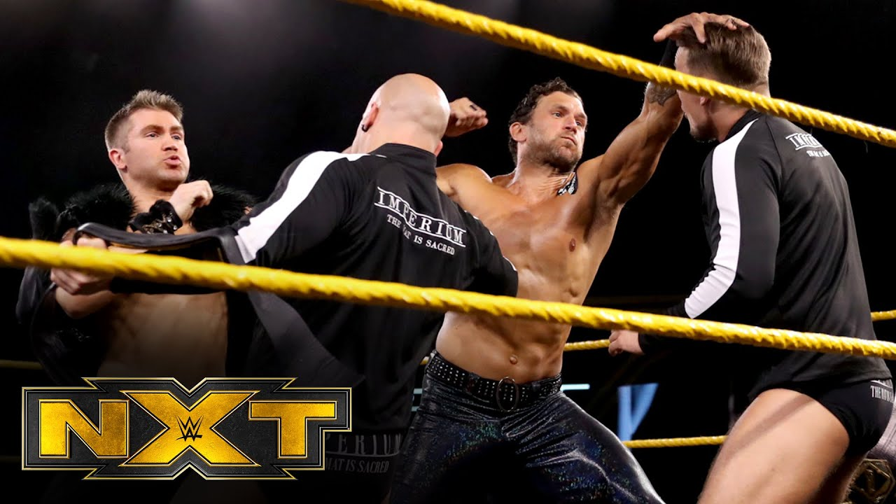 Imperium vs. Breezango – NXT Tag Team Championship Match: WWE NXT, Aug. 26, 2020