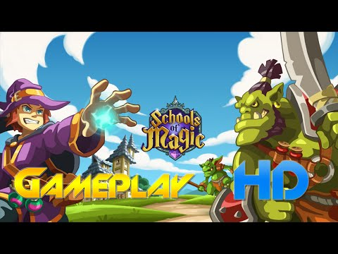 Schools of Magic Gameplay Android / IOS
