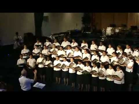 WMI Final Concert - Girls Chorus - In the Cross, Touching Heaven & For Good