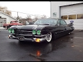 Green Eyes on 1959 Cadillac Series 62 Custom & Engine Sound on My Car Story with Lou Costabile