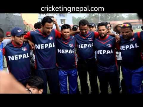 victory song of Nepali national cricket team