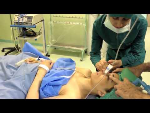 Anesthesia can look a little weird...