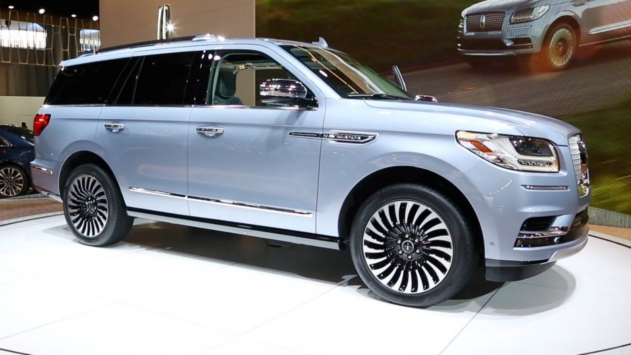 2018 Lincoln Navigator 2017 New York Auto Show